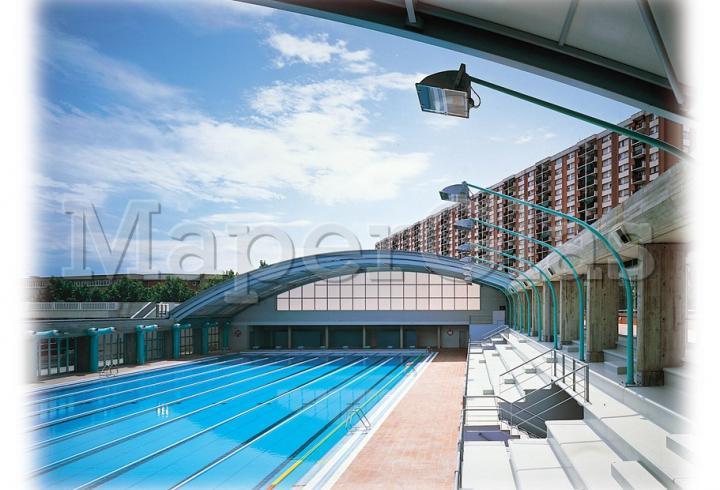 1992 piscina club nataci sant andreu en barcelona www for Piscinas cubiertas barcelona