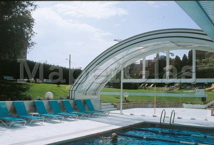 1997 piscina hotel princesa sofia en barcelona www for Piscinas cubiertas barcelona
