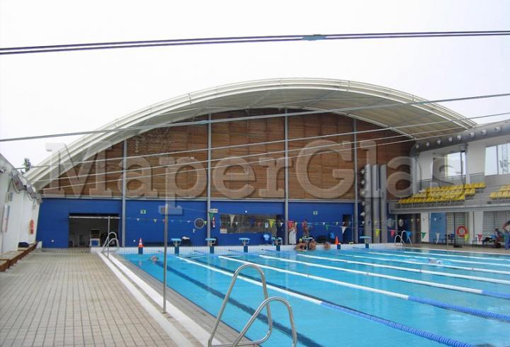 1999 piscina polideportivo principes de espa a en palma - Piscinas en palma de mallorca ...