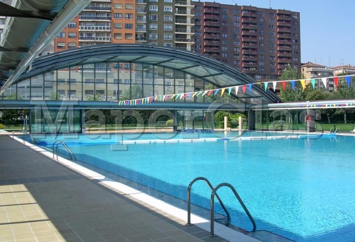 2004 piscina instituto municipal de deportes en for Piscinas diseno estructural