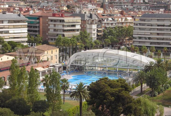 2006 piscine centre fitness dir diagonal barcelona for Knebel design pool ug