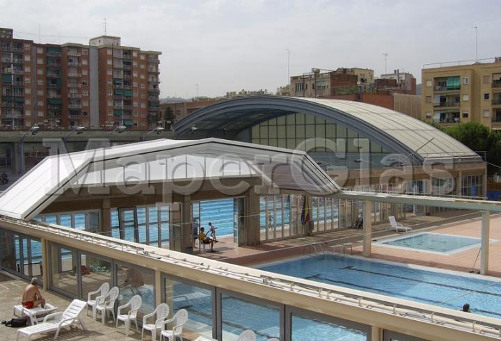 2006 piscina club nataci sant andreu 2 a barcelona for Piscina sant andreu